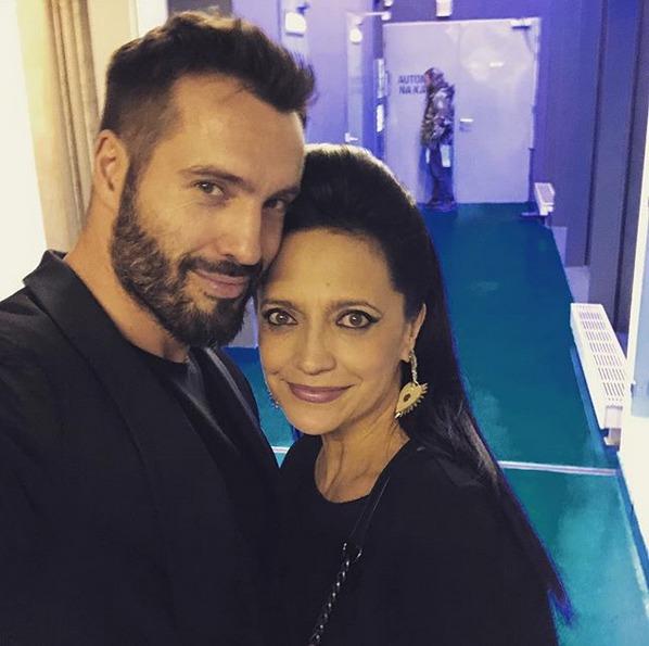 Václav Noid Bárta a Lucie Bílá na snímku, který zpěvák sdílel na Instagramu