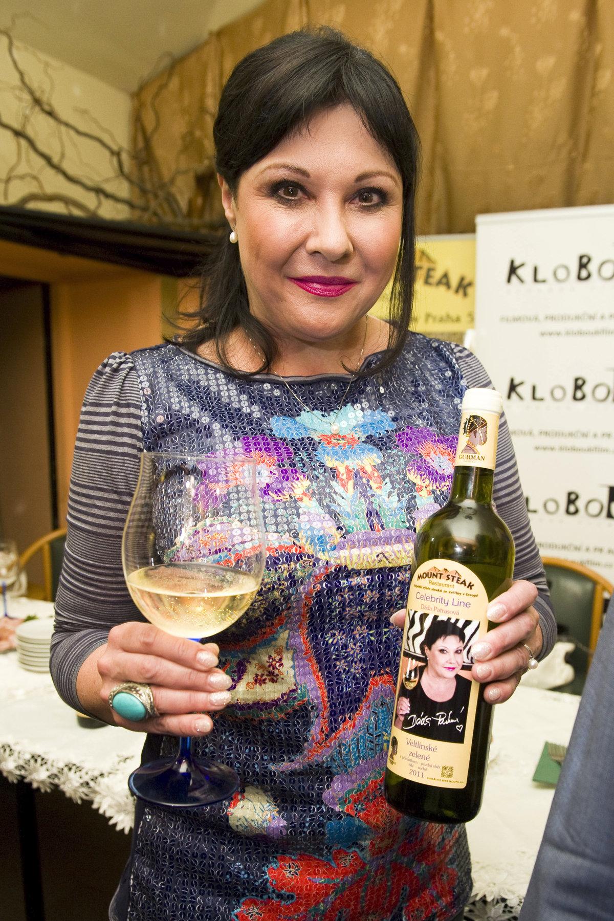 2012 - Dáda má vlastní víno.