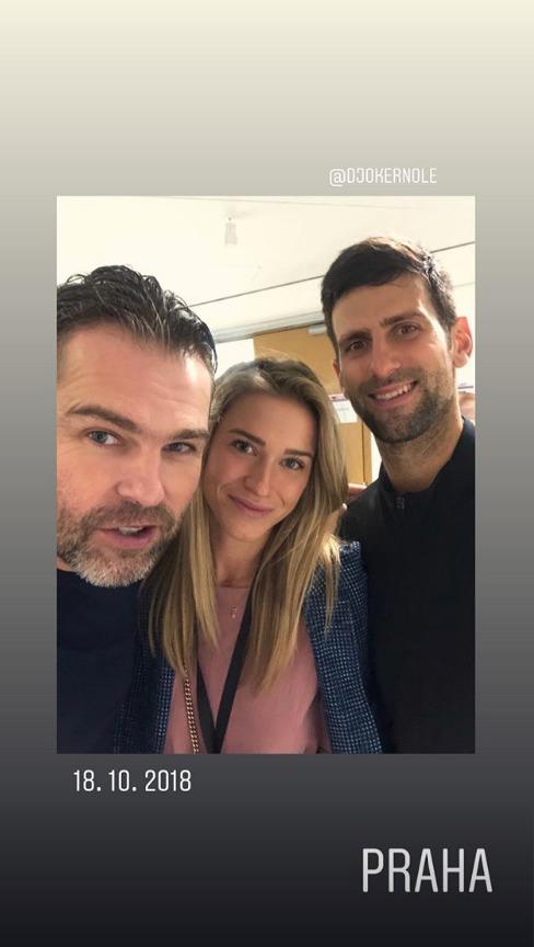 Poslední instagramová fotka s Jágrem, z rozlučky s Radkem Štěpánkem...