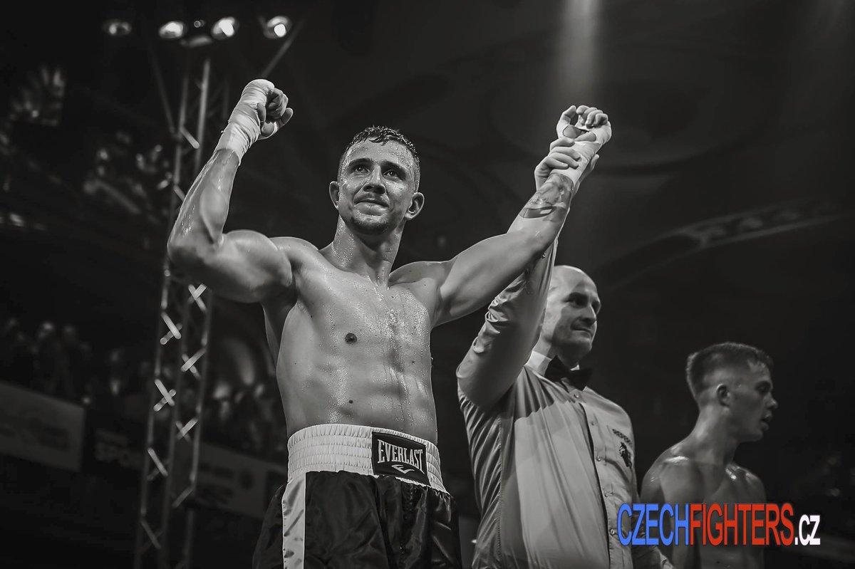 Jakub Štáfek během boxerského utkání