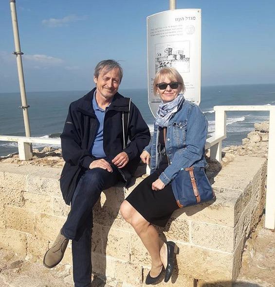 Veronika Žilková a Martin Stropnický v Izraeli