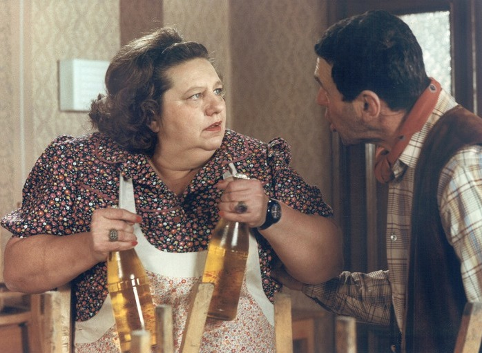 Helena Růžičková ve filmu Příště budeme chytřejší, staroušku! (1982)