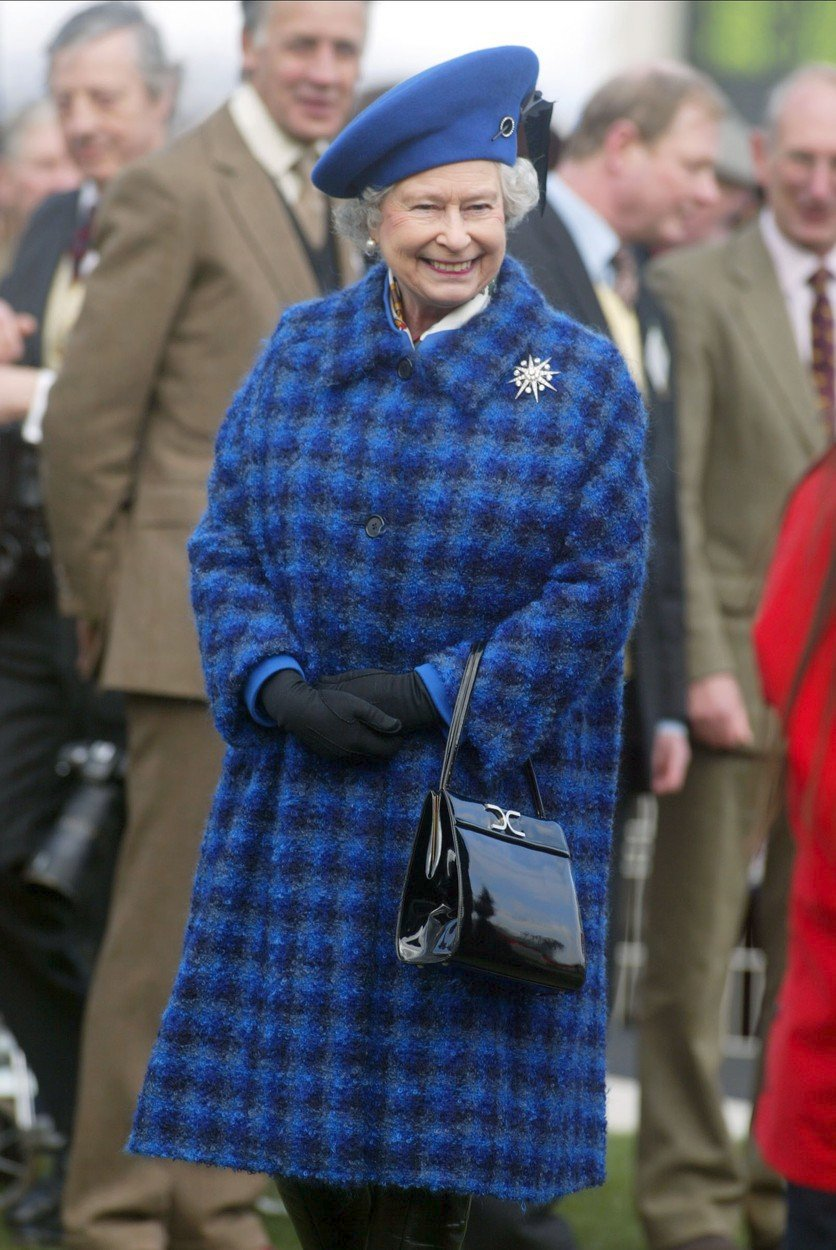 Královna Alžběta II. v roce 2003
