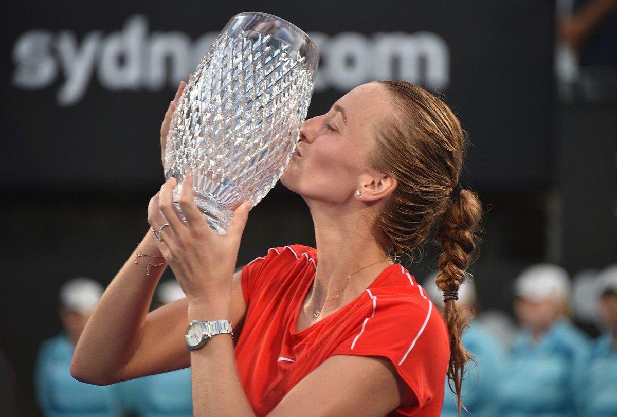 Bilanci v bojích o titul si Petra Kvitová vylepšila na 26:7 a uspěla v osmém finále v řadě.