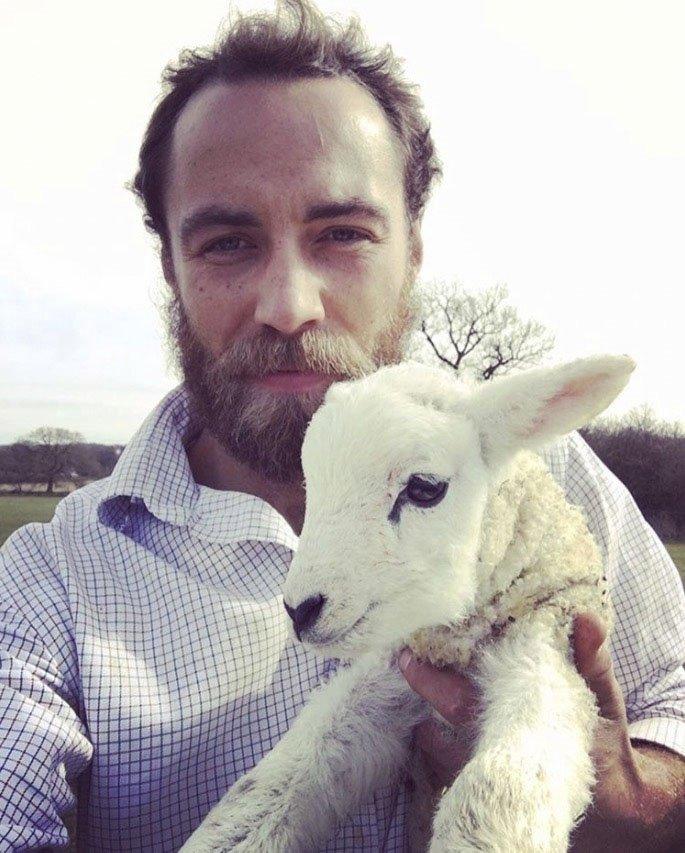 James Middleton má rád zvířata