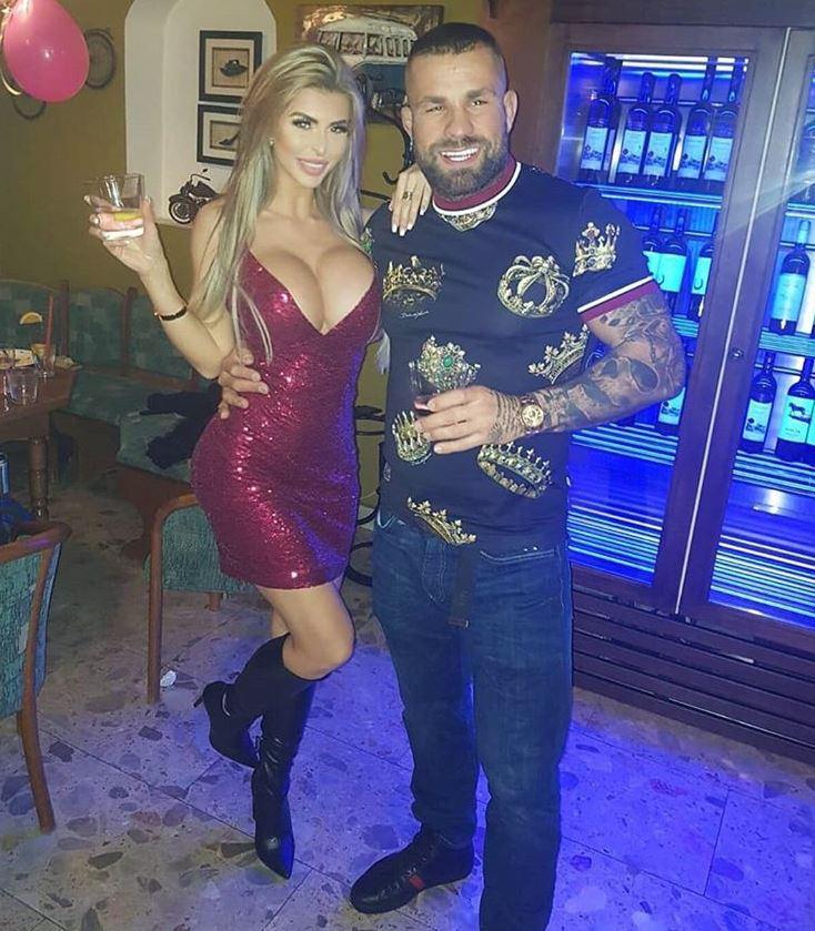 Lela Ceterová, přítelkyně nejlepšího českého fightera Karlose Vémoly