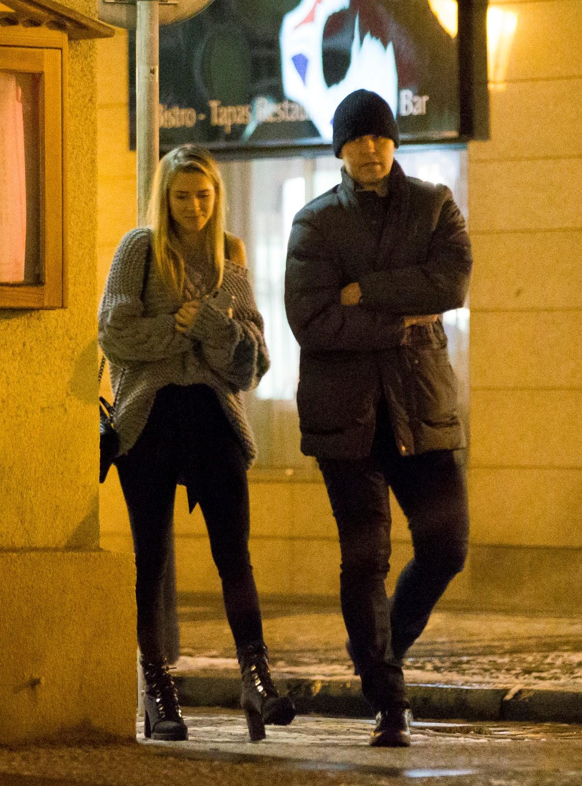 Jaromír Jágr a Veronika Kopřivová na rande