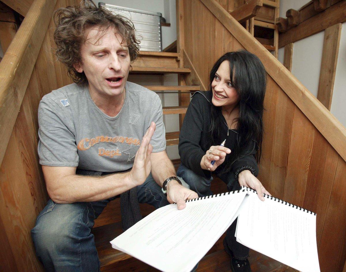 David Prachař s Lucií Bílou