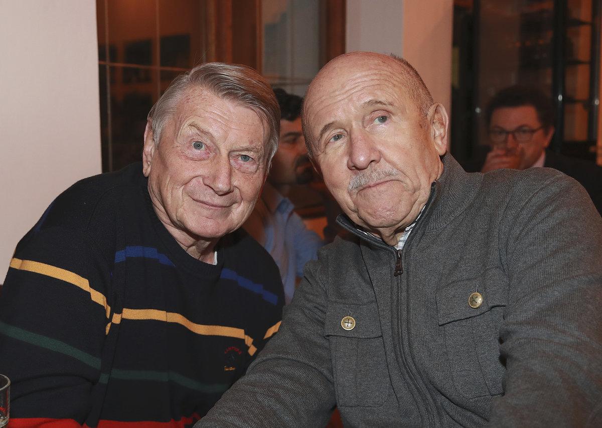 Petr Nárožný s Josefem Dvořákem