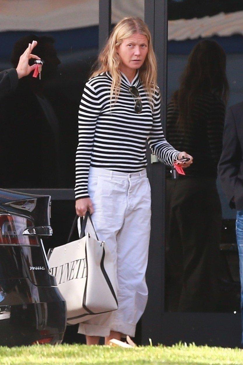 Nenalíčená Gwyneth Paltrow