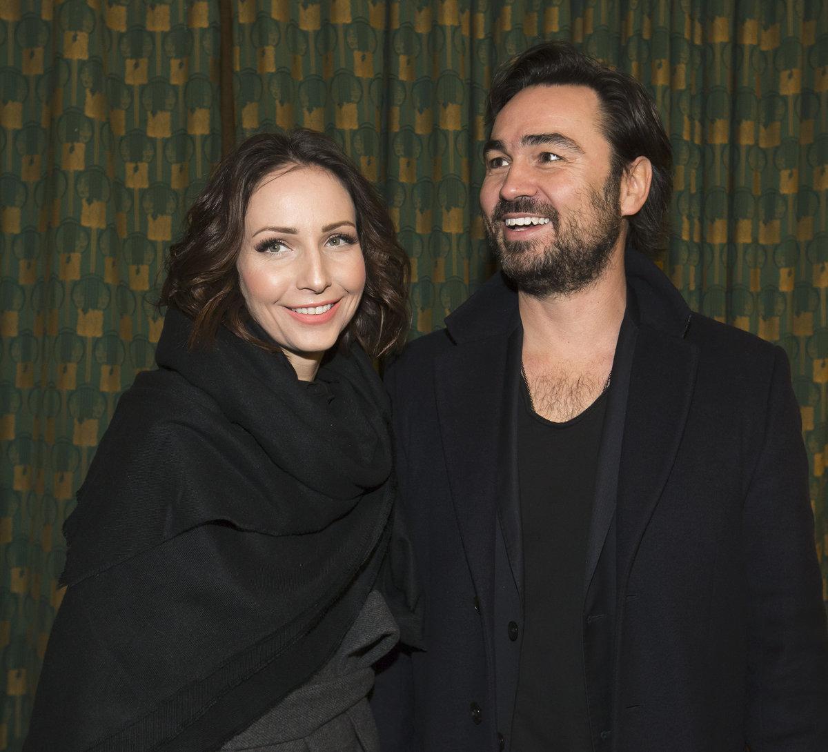 Veronika s manželem