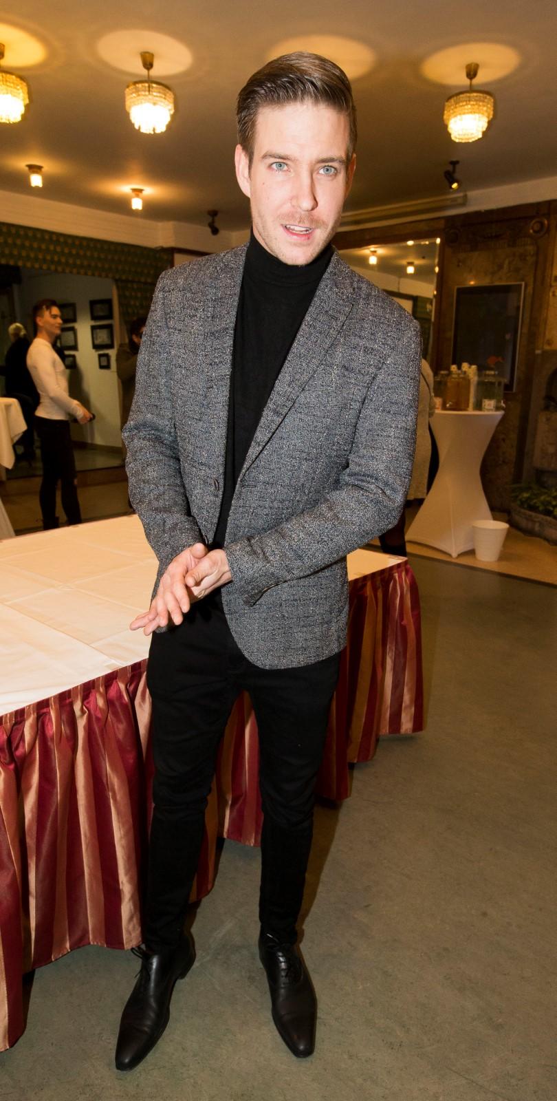 Vladimír Polívka na premiéře filmu Ženy v běhu.