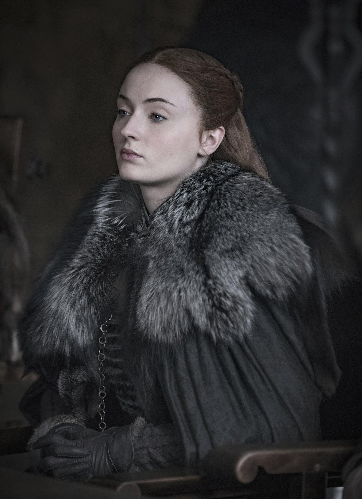 Sophie Turner v roli Sansy Stark
