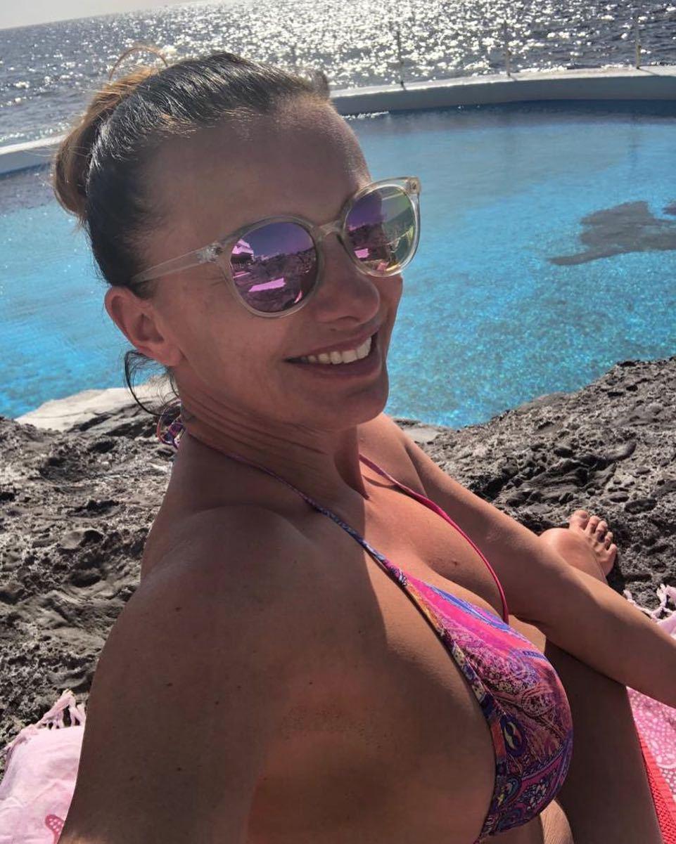 Alice Bendová se zase vyprsila na Tenerife