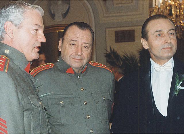 Michal Dočolomanský si zahrál také v seriálu Četnické humoresky