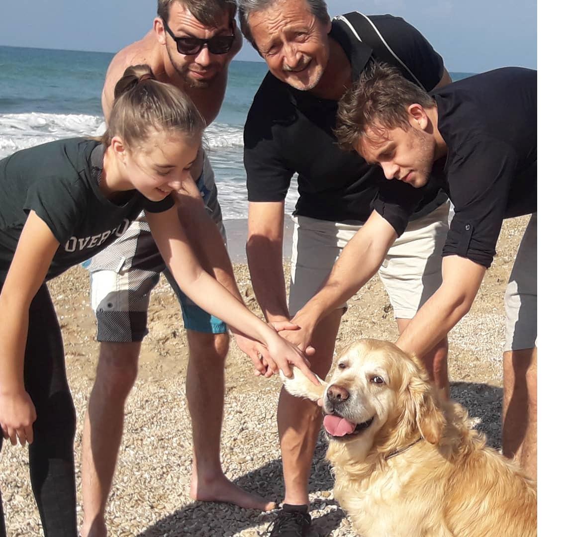 Rodina obrečela labradora Pipa.