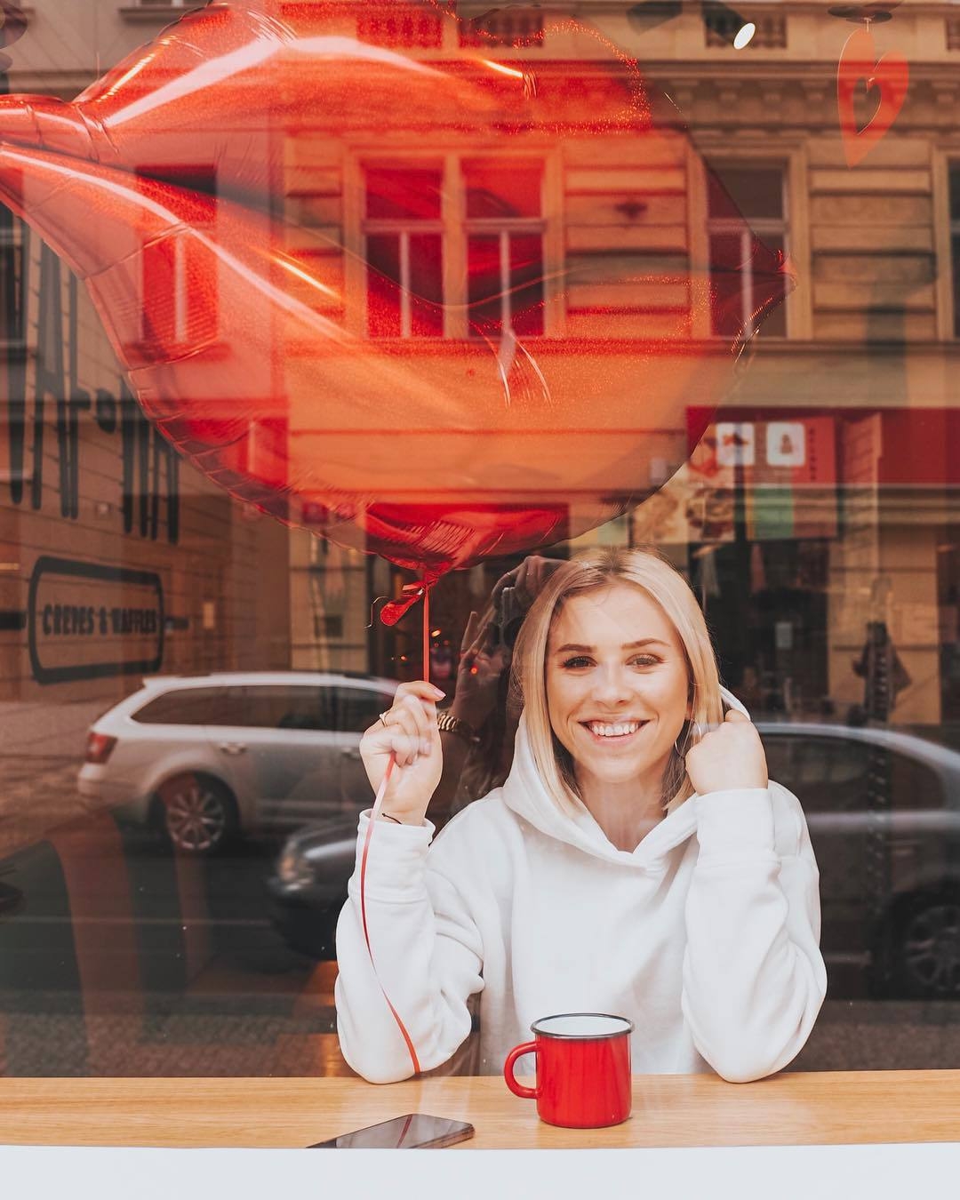 Mariana Prachařová na zajímavé fotce