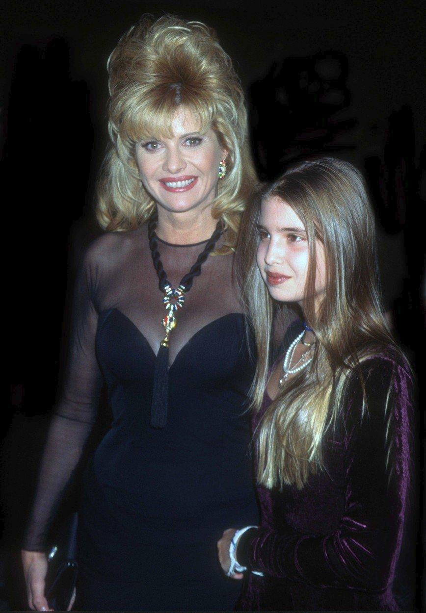 S dcerou Ivankou.