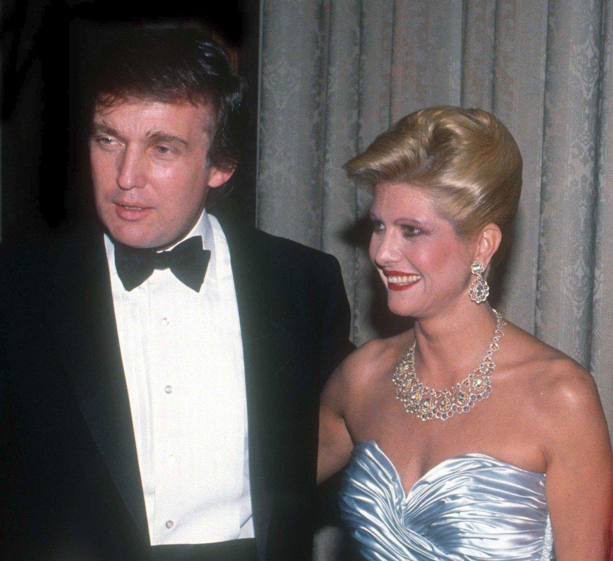 Ivana Trumpová a Donald Trump.