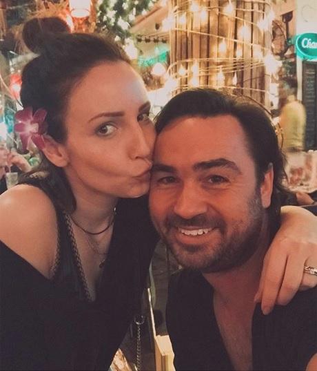 Veronika s manželem Biserem Arichtevem