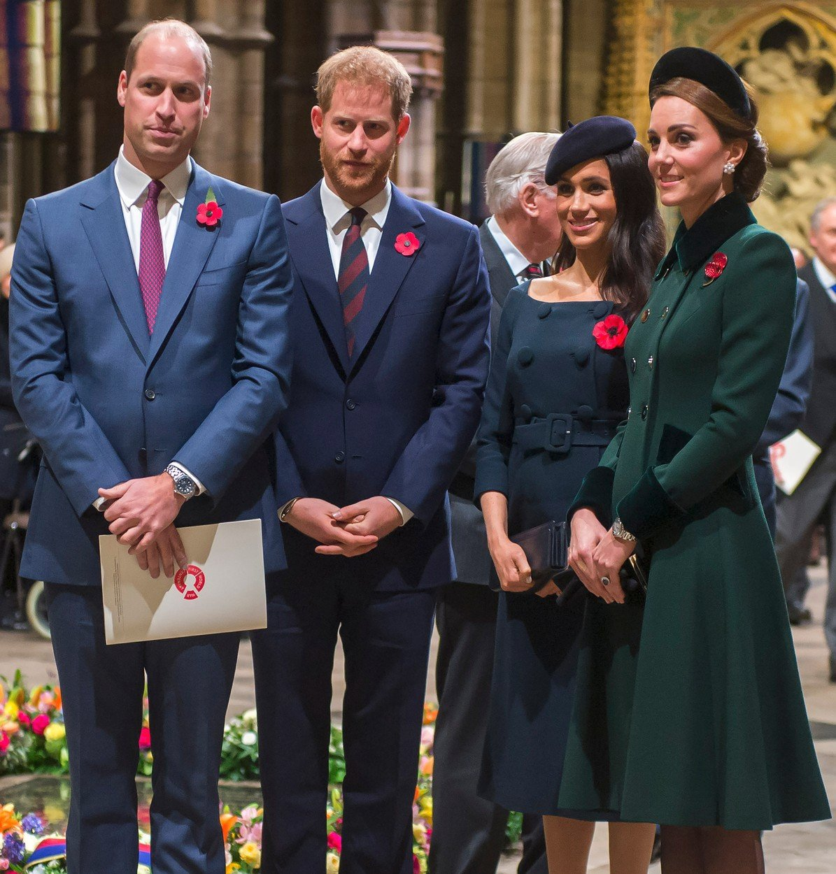 Královské páry pospolu.