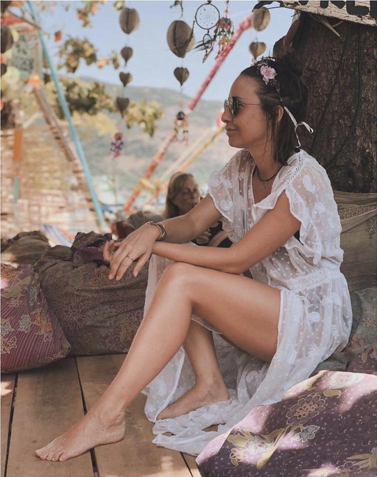 Veronika Arichteva špulí v Thajsku rty