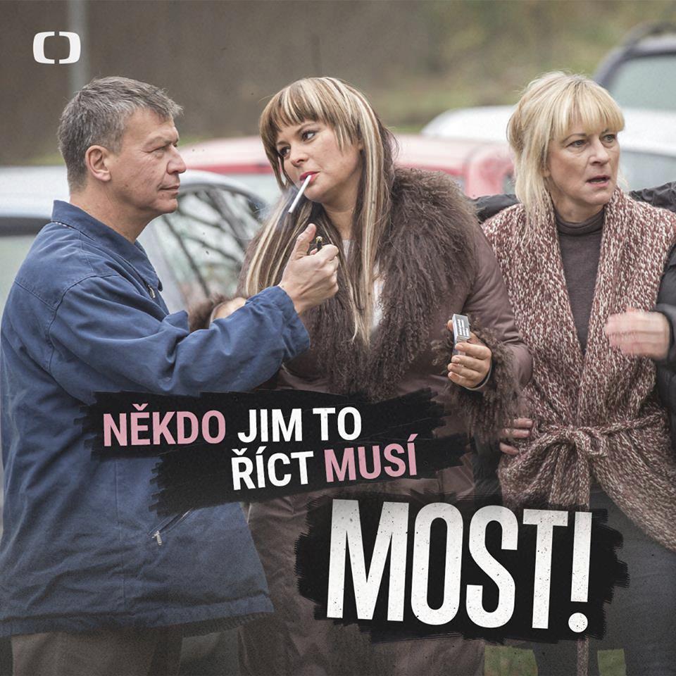 Jitka Čvančarová v seriálu MOST!