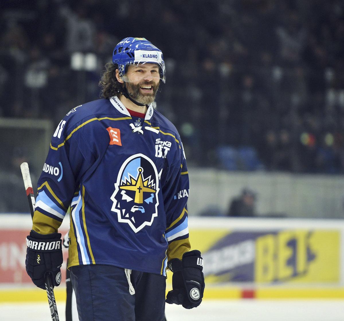 Na ledě byl Jaromír Jágr spokojený