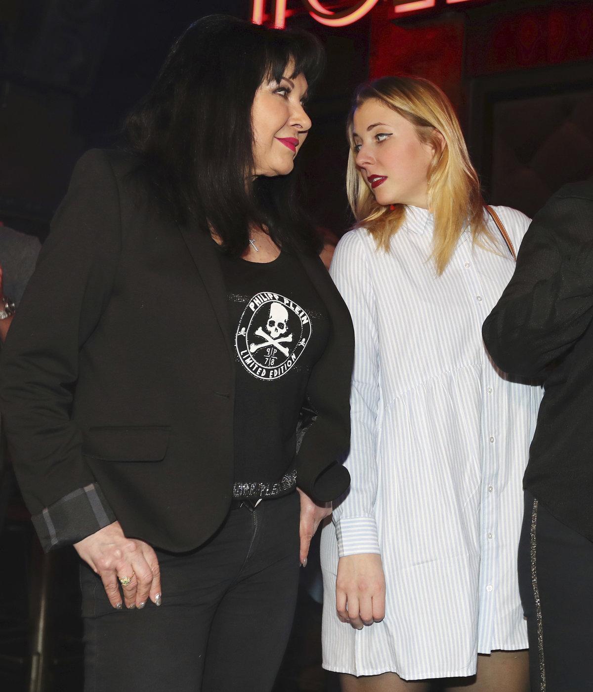 Dáda s dcerou Aničkou