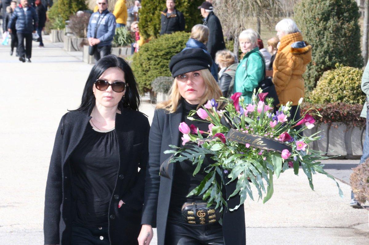 Pohřeb Jiřího Pomeje: Vendula Pizingerová