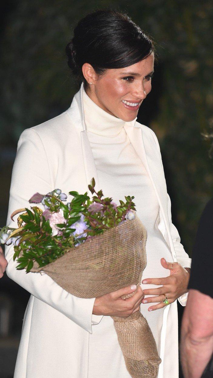 Meghan Markle je elegantní i v těhotenství