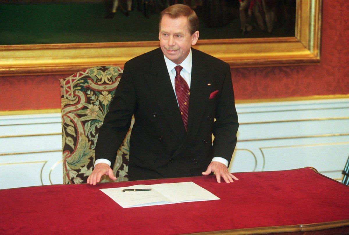 Někdejší prezident Václav Havel byl u vstupu ČR do NATO