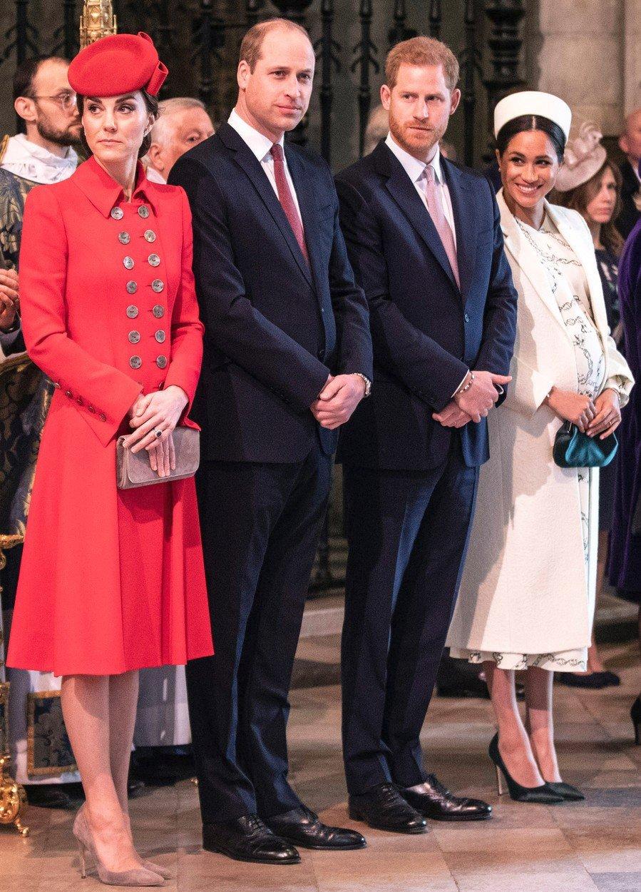 Vévodkyně Kate a vévodkyně Meghan