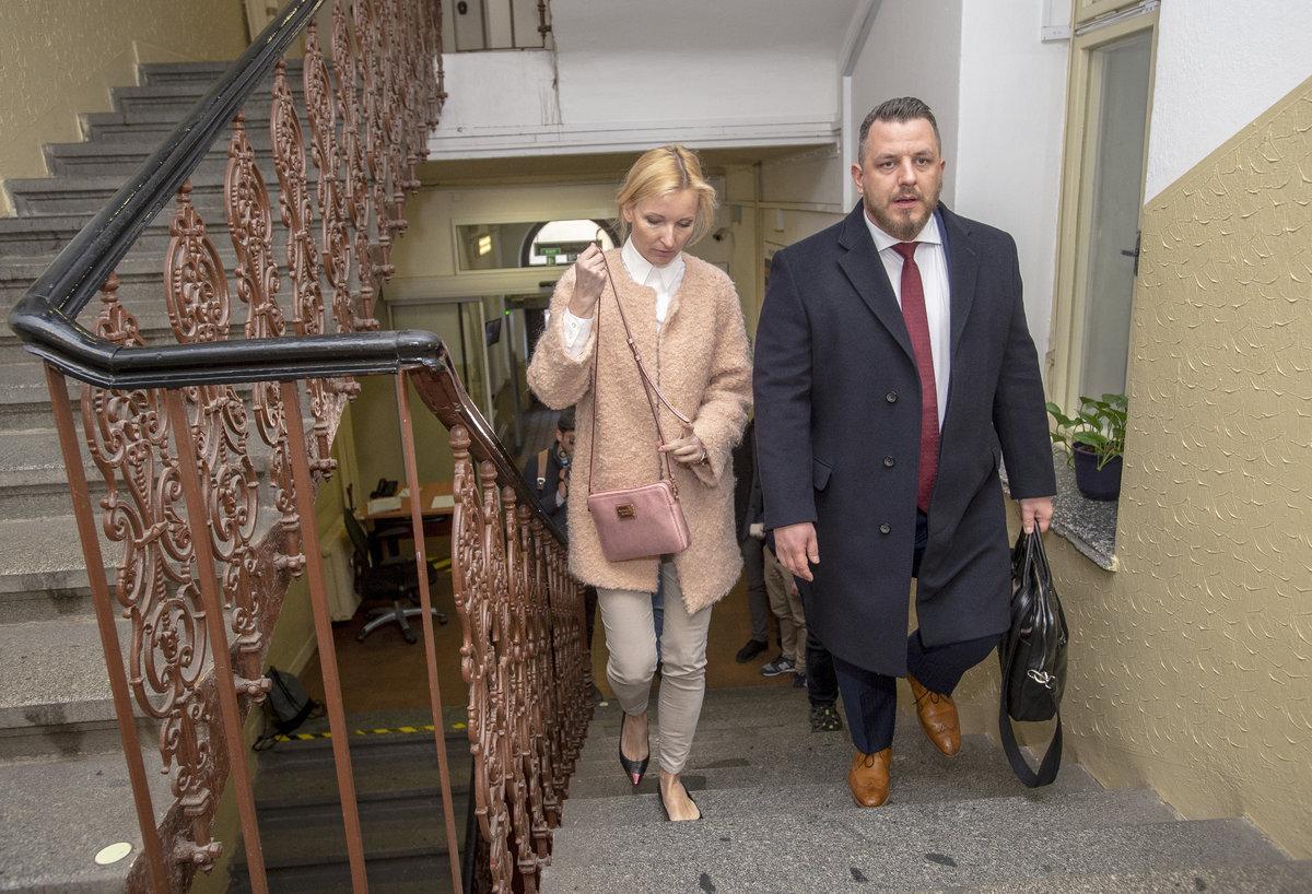 Jiří Paroubek a Petra Paroubková se dnes opět střetli u soudu kvůli výši výživného na dceru