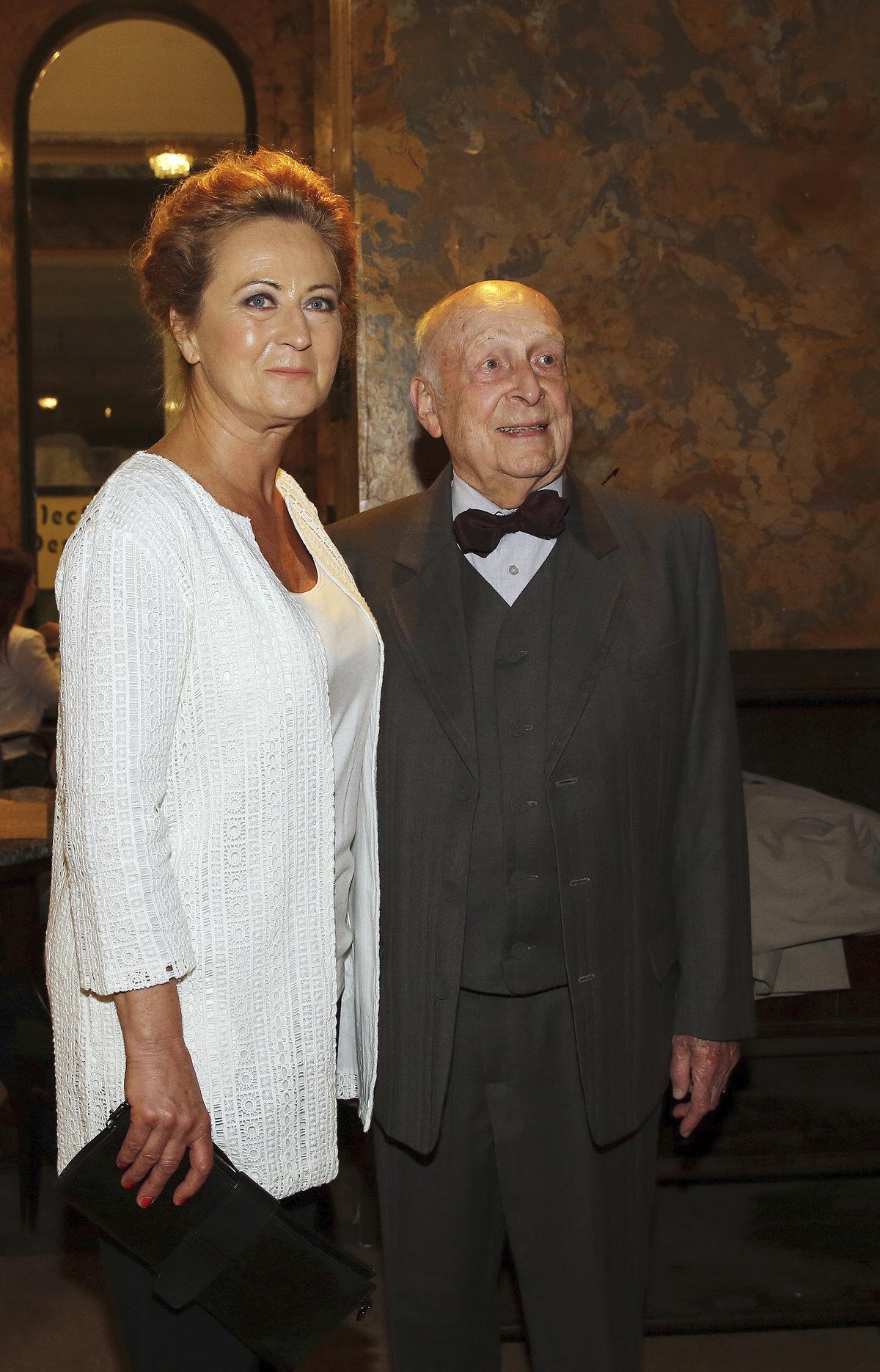 Stanislav Zindulka a Simona Stašová