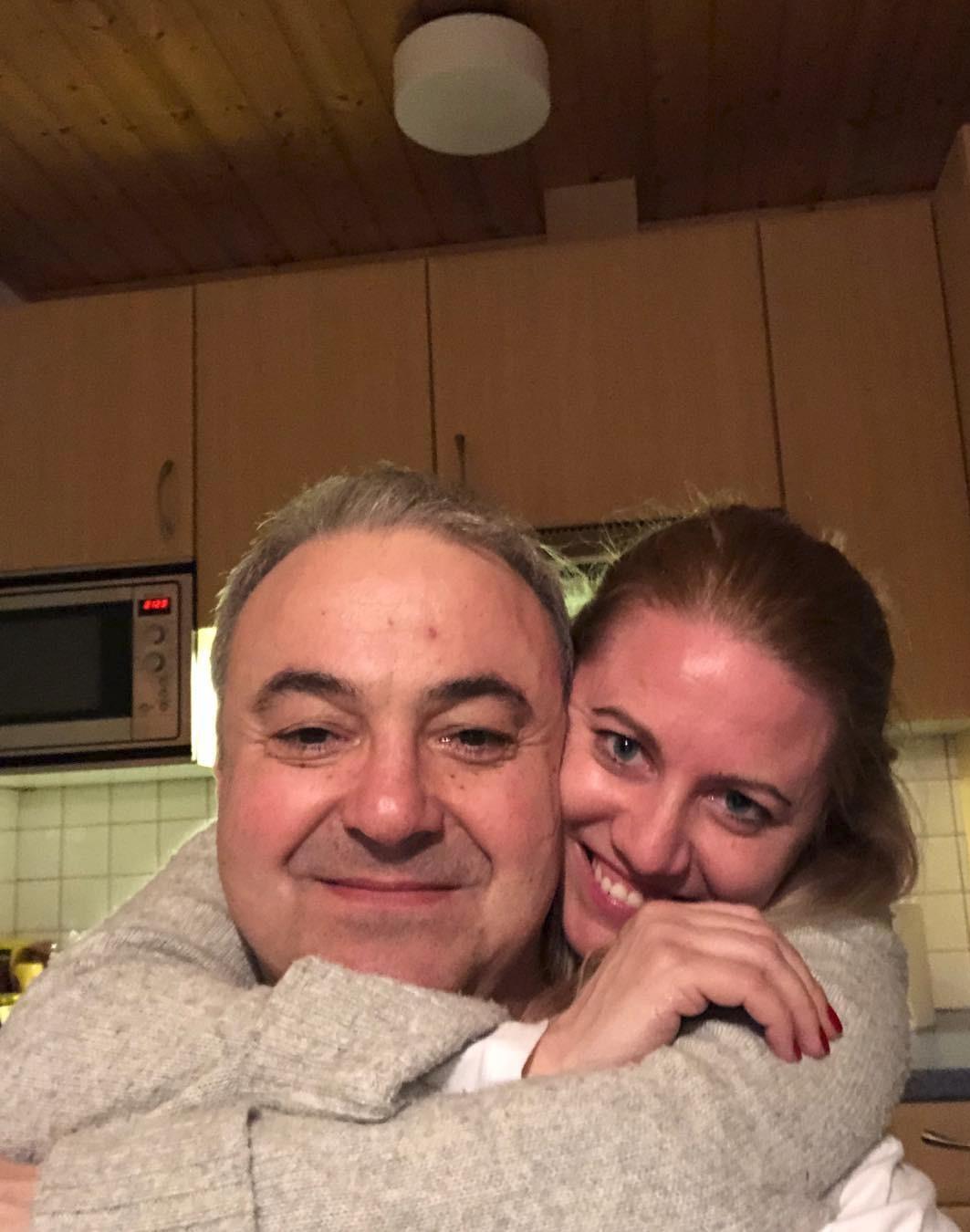 Martin Zounar s přítelkyní Kateřinou