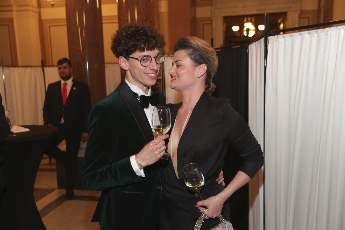 Jan Cina a Erika Stárková