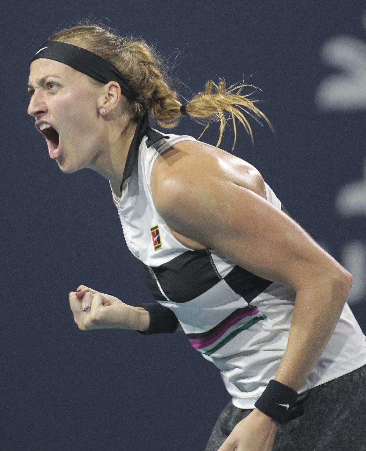 Petra Kvitová končí v Miami ve čtvrtfinále