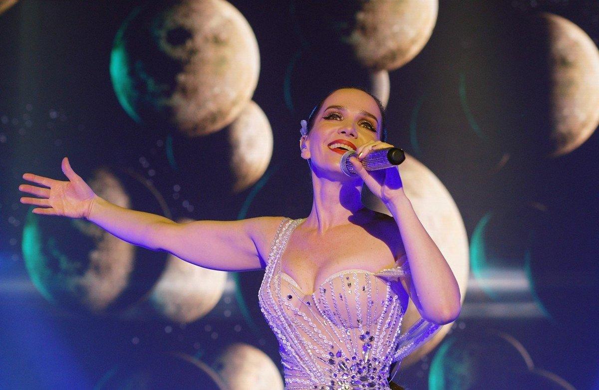 Natalia Oreiro šokovala svým mladistvým vzhledem na vystoupení v Moskvě
