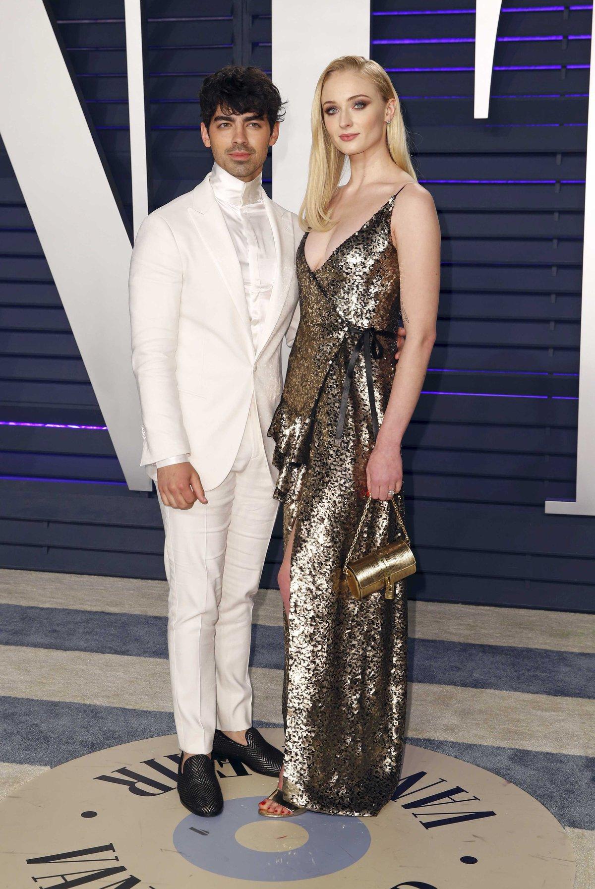 Sophie Turner a její snoubenec, zpěvák Joe Jonas