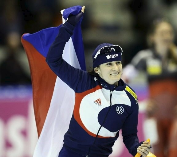 Po olympiádě slavila Martina i v Heerenveenu 2010