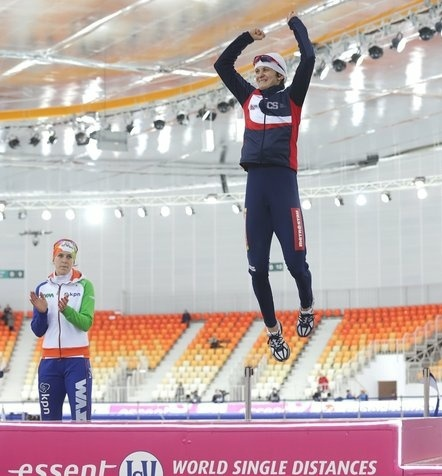 Rok před olympiádou v Soči si Sáblíková vyjela v Rusku zlato