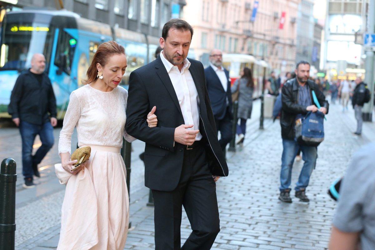 Premiéra filmu Teroristka: Táňa Vilhelmová a Martin Hofmann