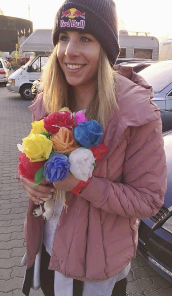 Ester Ledecká na pouti trefila jednu, ale celý puget růží