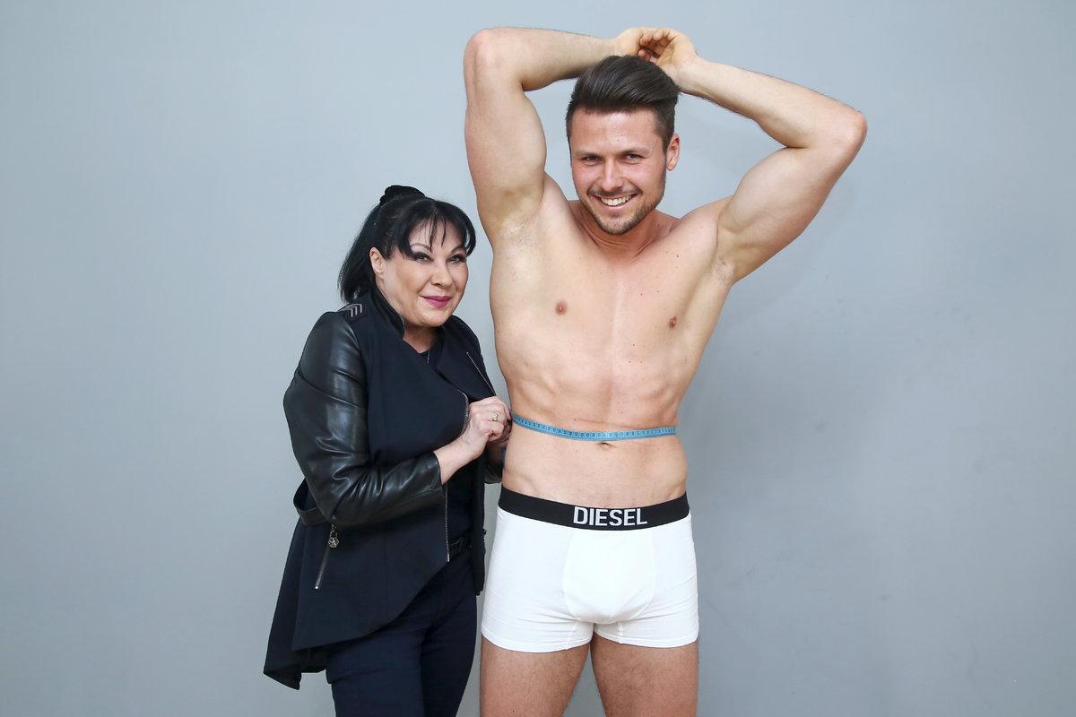 Dagmar Patrasová na castingu Muže roku