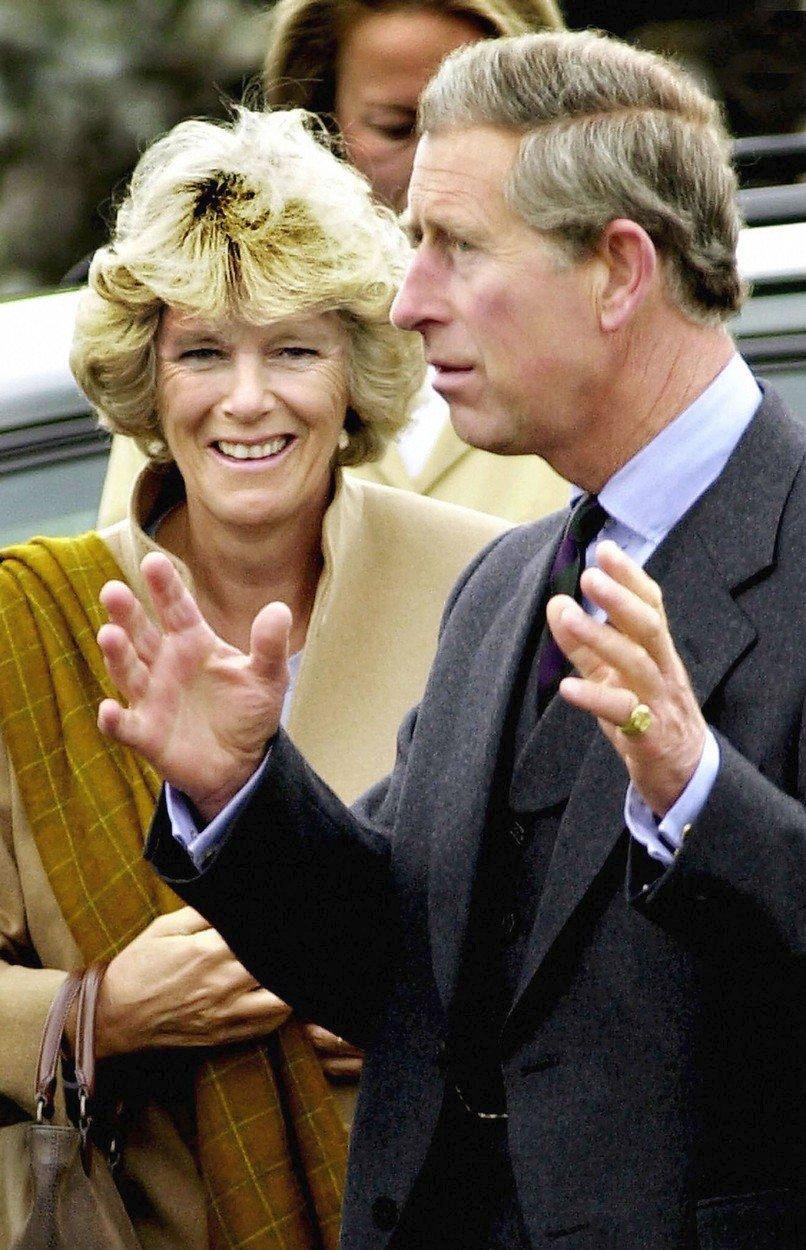Princ Charles a Camilla