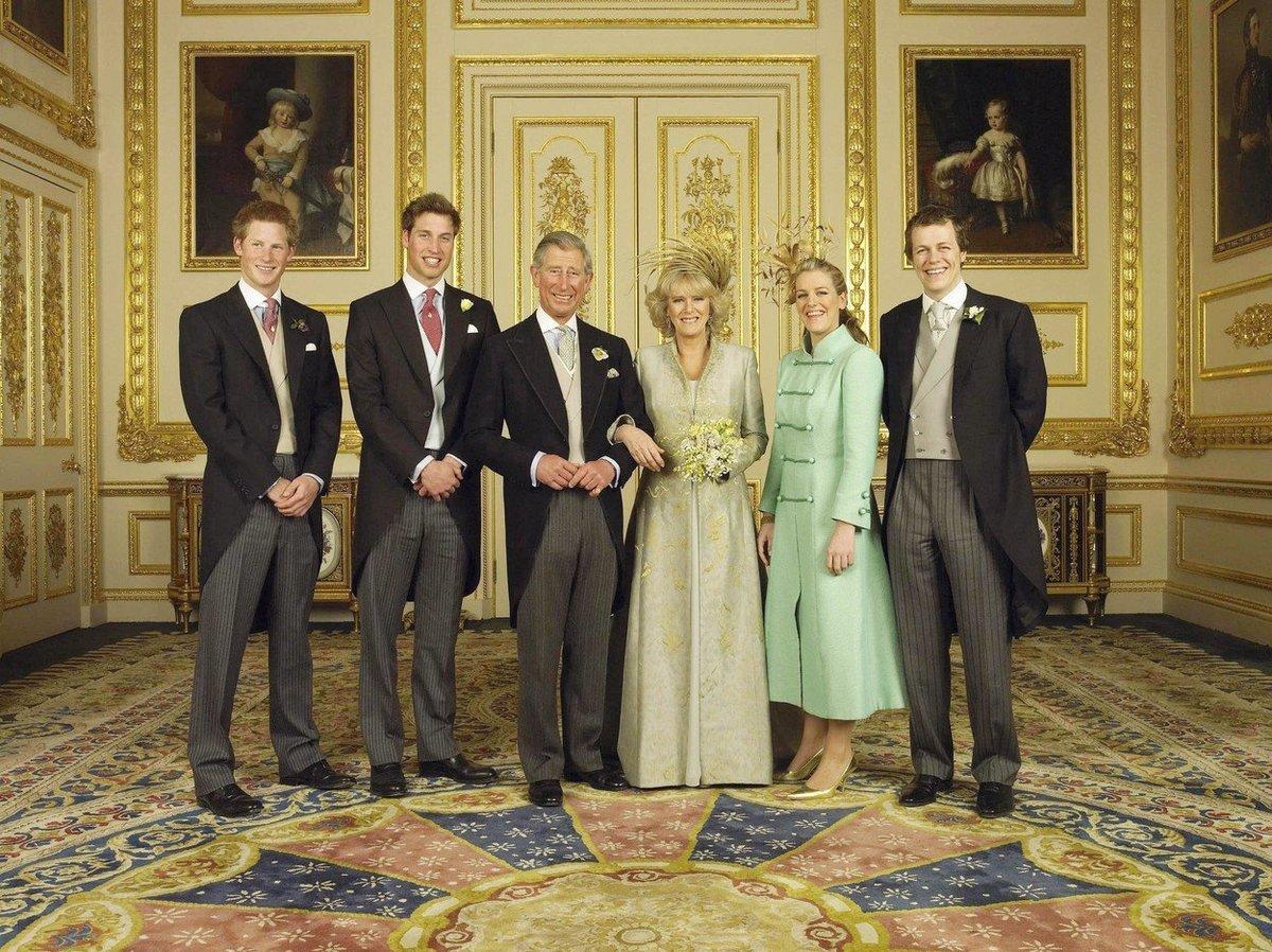 Svatba prince Charlese a Camilly proběhla v roce 2005.