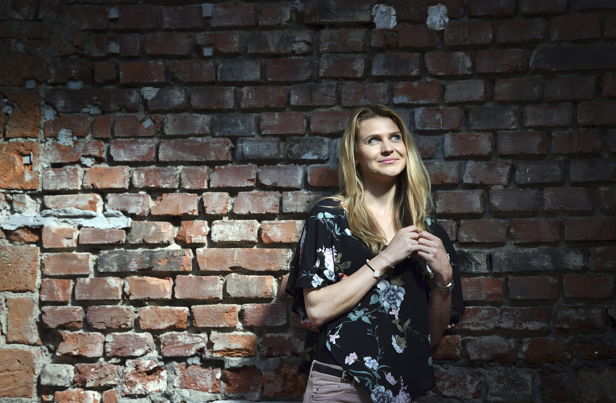 Tenistka Lucie Šafářová pózovala pro Sport Magazín