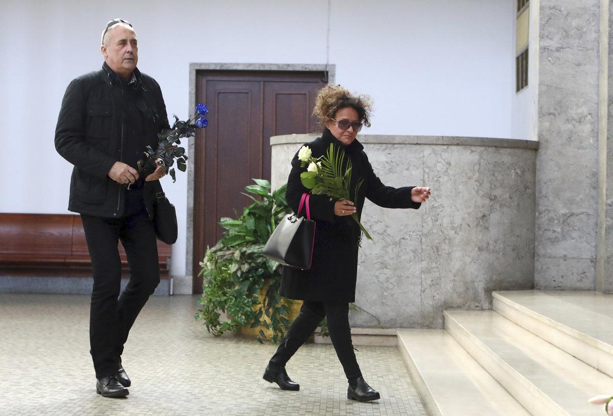 Jitka Zelenková herec a moderátor Petr Salava