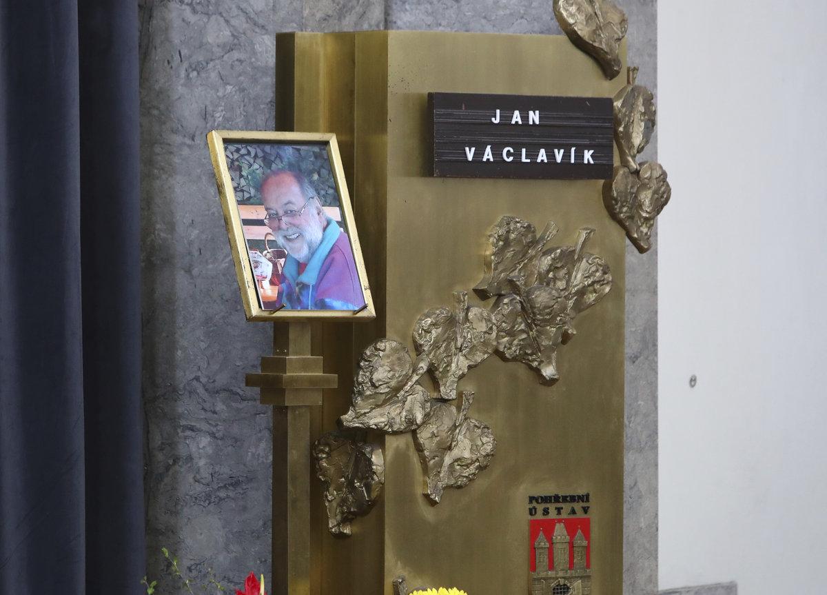 Pohřeb muzikanta Jana Václavíka